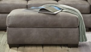 "#AF5905 – The ""Telluride Latte"" Ottoman"
