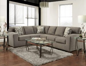 "#AF5950 – The ""Impulse Espresso"" Sectional"
