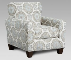 """#AF9001 – The """"Style 1"""" Accent Chair in Brianne Twilight"""