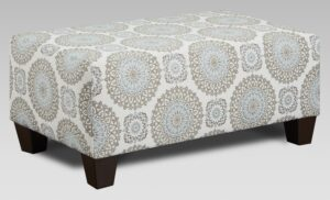 "#AF9005 – The ""Style 1"" Ottoman in Brianne Twilight"