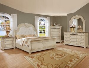 "#B1630 – The ""Stanley"" Bedroom in Antique White"