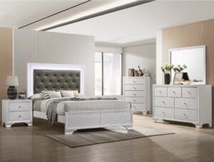 "#B4310 – The ""Lyssa"" LED Bedroom in Frost"