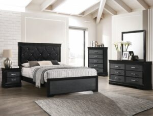 "#B6918 – The ""Amalia"" Bedroom in Black"
