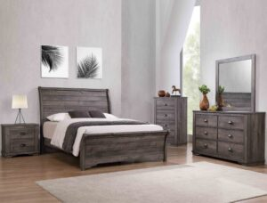 "#B8100 – The ""Coralee"" Bedroom in Grey"
