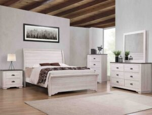 "#B8130 – The ""Coralee"" Bedroom in Chalk"