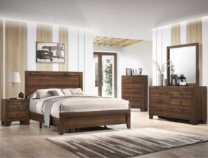 "#B9250 – The ""Millie"" Bedroom in Brown Cherry"