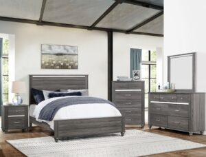 "#B9520 – The ""Gaston"" Bedroom in Grey"