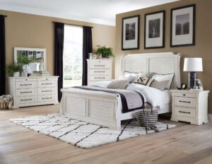 "#BR8047S – The ""Ridley Sleigh"" Bedroom"