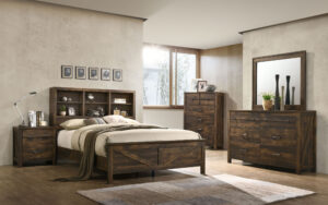 "#BR8100 – The ""Rusty Oak"" Bedroom"