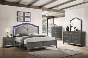 "#BR8318 – The ""Metallic LED"" Bedroom"