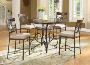 #DC1680 Counter-Height Dining Set