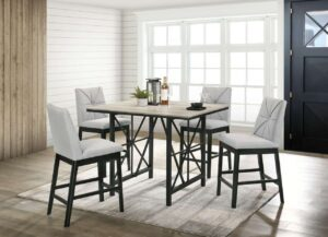 #DC8575 Counter-Height Dining Set