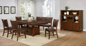 "#DIN1842D – The ""Jonah"" Dining Set with Bench"