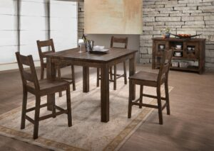 "#DIN6377P – The ""Harrison"" Counter-Height Dining Set"