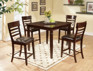 "#DINDC192P – The ""Parker Cherry"" Counter-Height Dining Set"