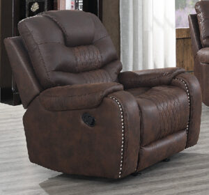 "#DL7078 – The ""Austin Chocolate"" Recliner"