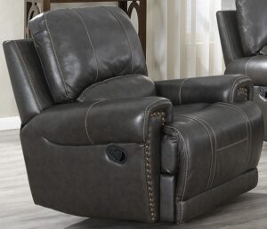 "#DL7149 – The ""Sussex Leather"" Recliner"