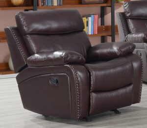 "#DL7253 – The ""Apex Leather"" Recliner"