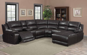 """#LRF212B – The """"Charcoal Lounger"""" Sectional"""
