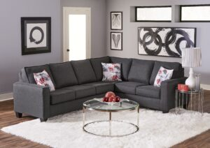 "#NCU333 – The ""Jitterbug Gunmetal"" Sectional"