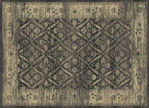 """Hudson 1095"" Rug in Graphite, Available in Two Sizes"