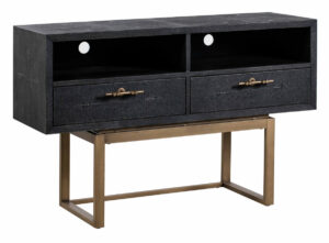 "The ""Irma Shagreen"" TV Stand"