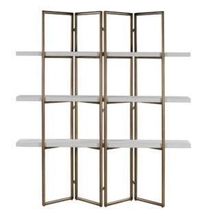 """The """"Kupa"""" Concrete Bookcase"""