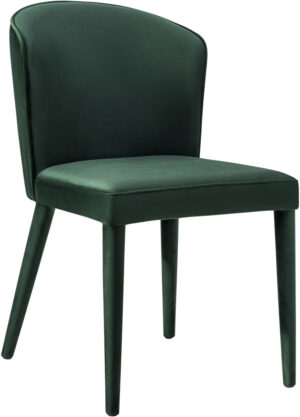 "The ""Metropolitan"" Chair in Forest Green Velvet"