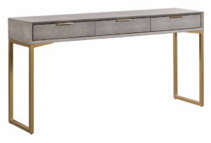 "The ""Pesce Shagreen"" Console Table"