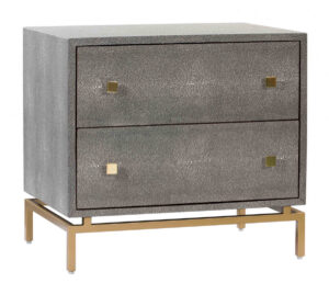 "The ""Pesce Shagreen"" Nightstand"