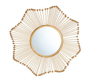 "The ""Ray"" Gold Mirror"