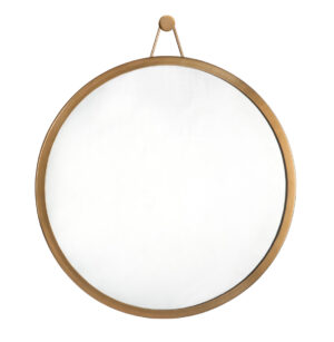 "The ""Rowan"" Brass Mirror"