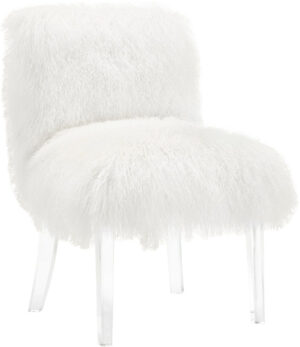 "The ""Sophie"" Sheepskin Chair"