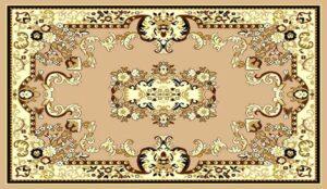 """""""Taj Mahal 111"""" Rug in Berber, 6′ x8′"""