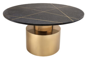 "The ""Terzo"" Coffee Table in Black"