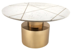 "The ""Terzo"" Coffee Table in White"