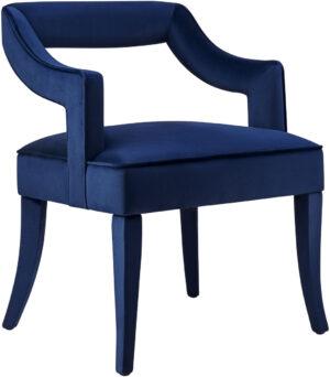 """The """"Tiffany"""" Chair in Navy Velvet"""