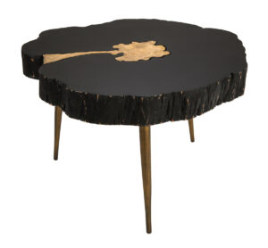 "The ""Timber"" Coffee Table in Black"