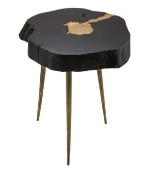 "The ""Timber"" Side Table in Black"
