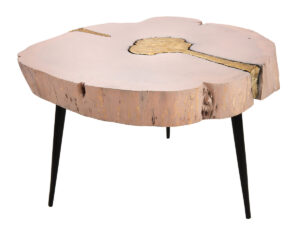 "The ""Timber"" Coffee Table in Pink"