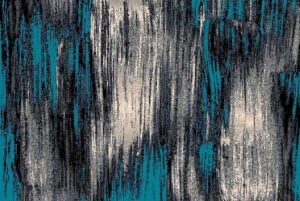 """""""Trendz 863"""" Rug in Blue, Available in Two Sizes"""