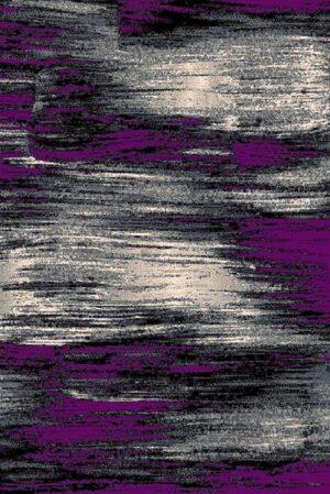 """Trendz 863"" Rug in Purple, 8′ x 11′"