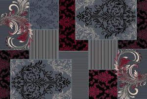 """""""Trendz 867"""" Rug in Lava, Available in Two Sizes"""